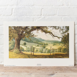 The Malvern Hills Painting