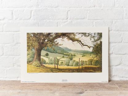 The Malvern Hills Painting
