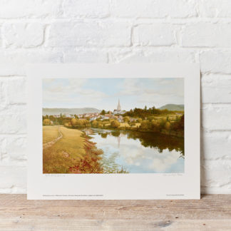 Ross on Wye Painting By Oxenham Art Gallery