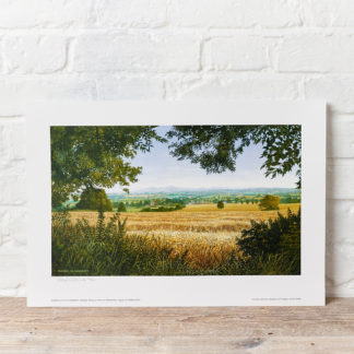 Summertime in the Malverns Painting