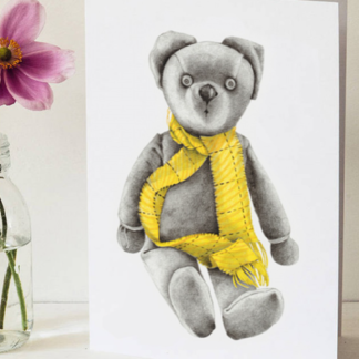 Bear Greeting Card by Margaret Taylor